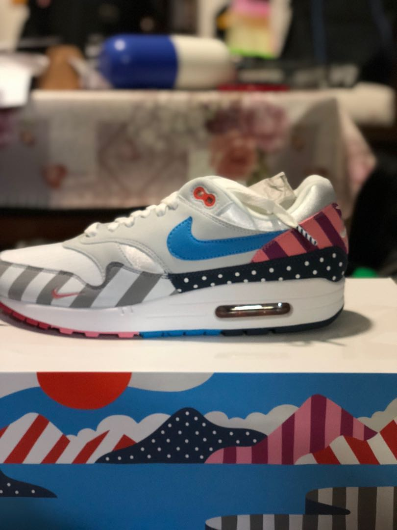822164bcee54 Nike Air Max 1 Parra US 11