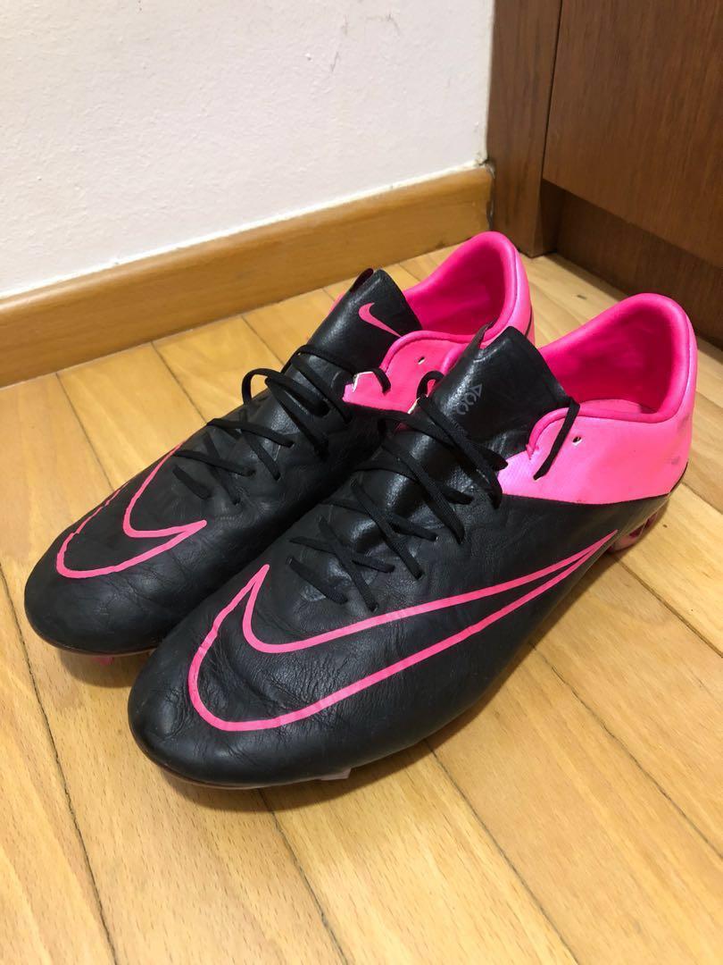 big sale 5e791 6a74c Nike Mercurial Vapor X leather Football boots