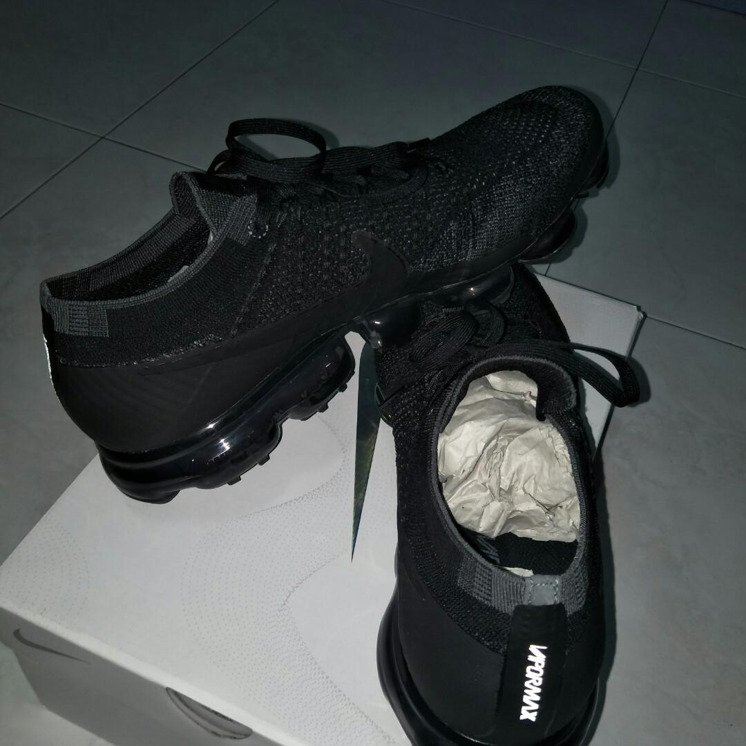 f3bb231396 Nike Vapormax 1.0 Triple Black US11.5, Men's Fashion, Footwear ...