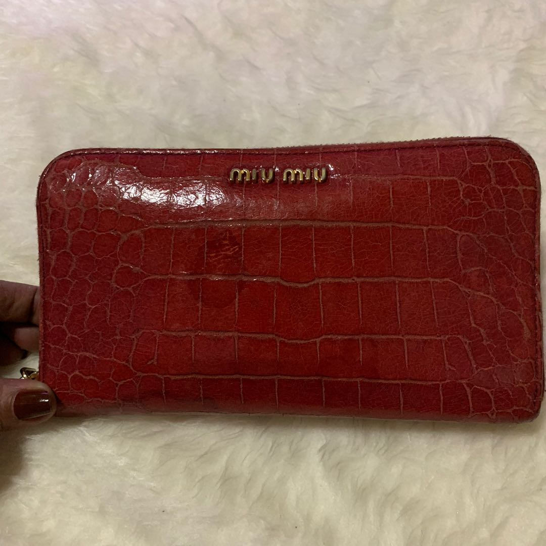 e17cbfc7668f original authentic mui miu wallet💕from japan💕