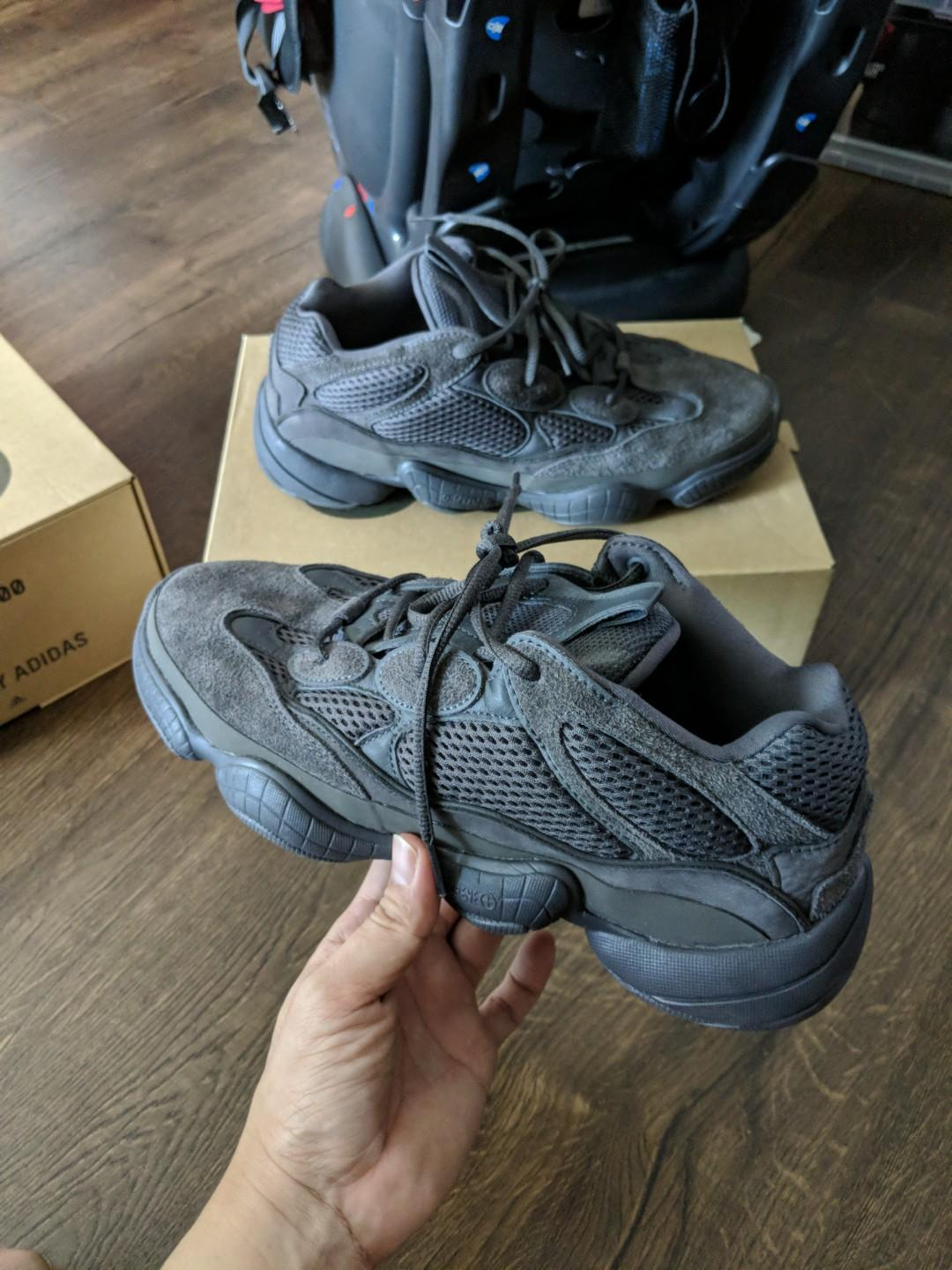 promo code 0592f 4e3d7 Price Firm / No TRADE : us10 Adidas Yeezy 500 Black boost ...