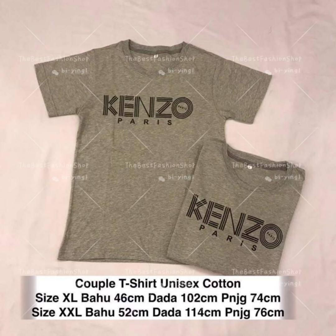 9a42895d42 Ready Stock Kenzo Paris Couple Tshirt, Women's Fashion, Clothes ...