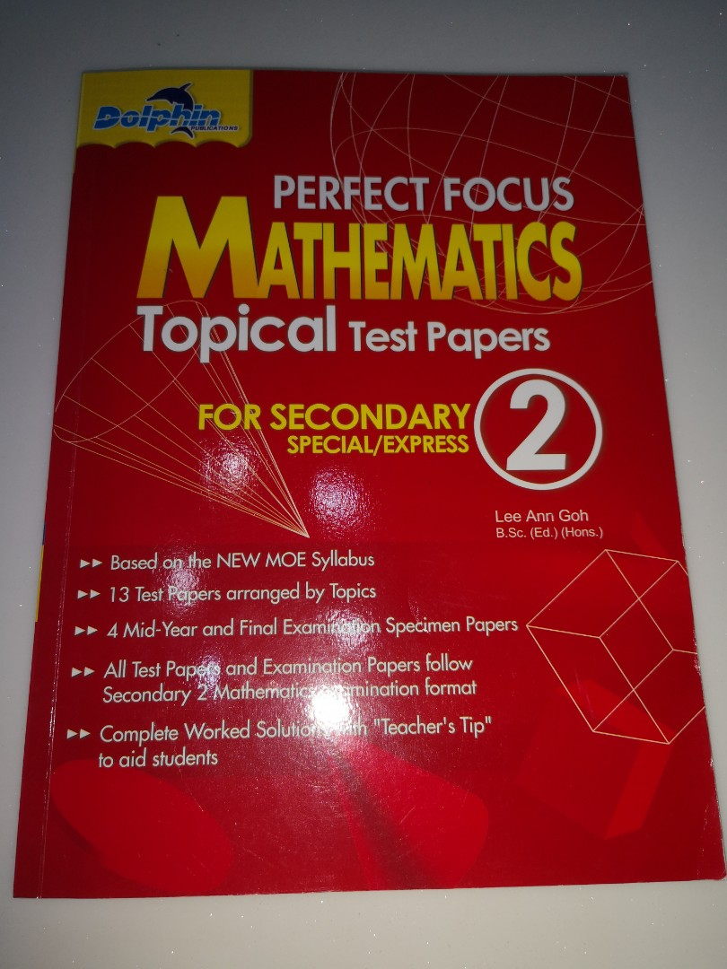 sec 2 math topical practice book