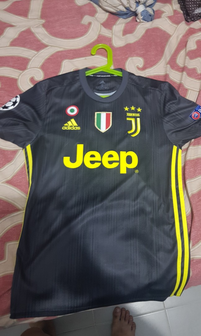 f12046736c1 Soccer Jersey JUV 3RD KIT AUTHENTIC W PATCHES AND RONALDO 7, Sports ...