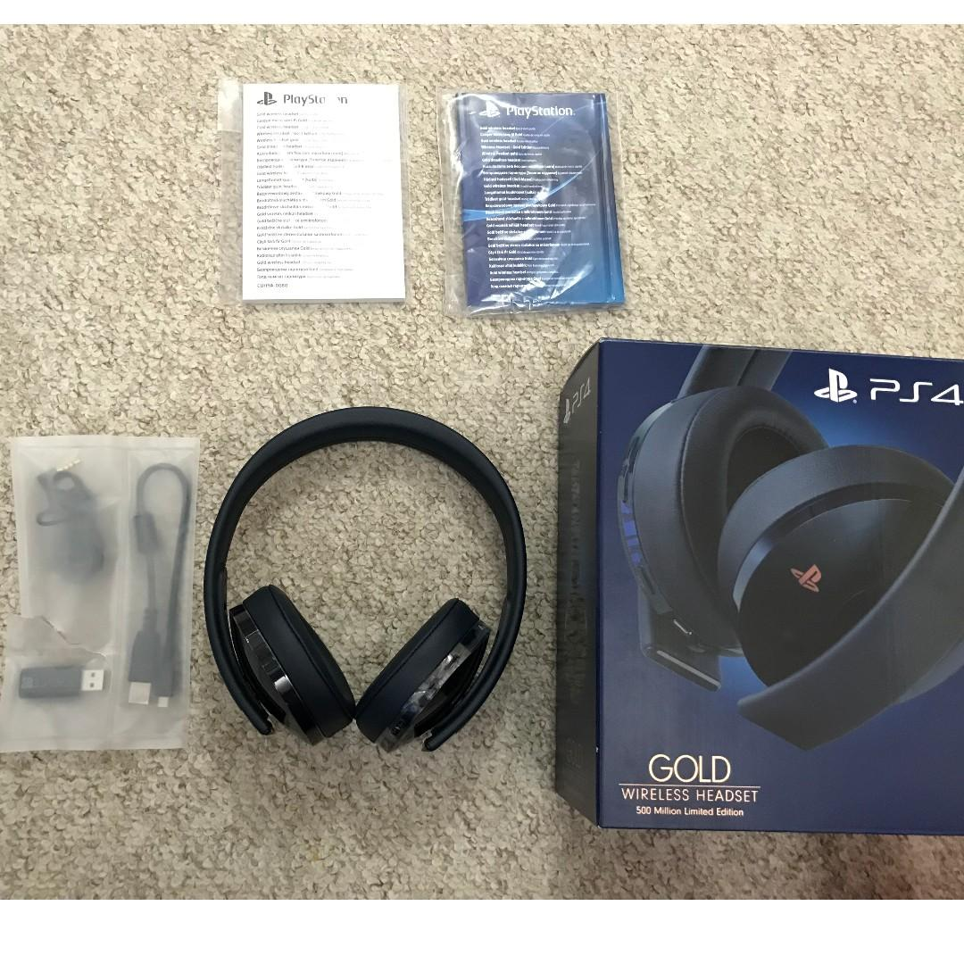 Sony Wireless 7.1 Gaming Headphones For PS4/PC/Mac/Mobile (Limited Edition)