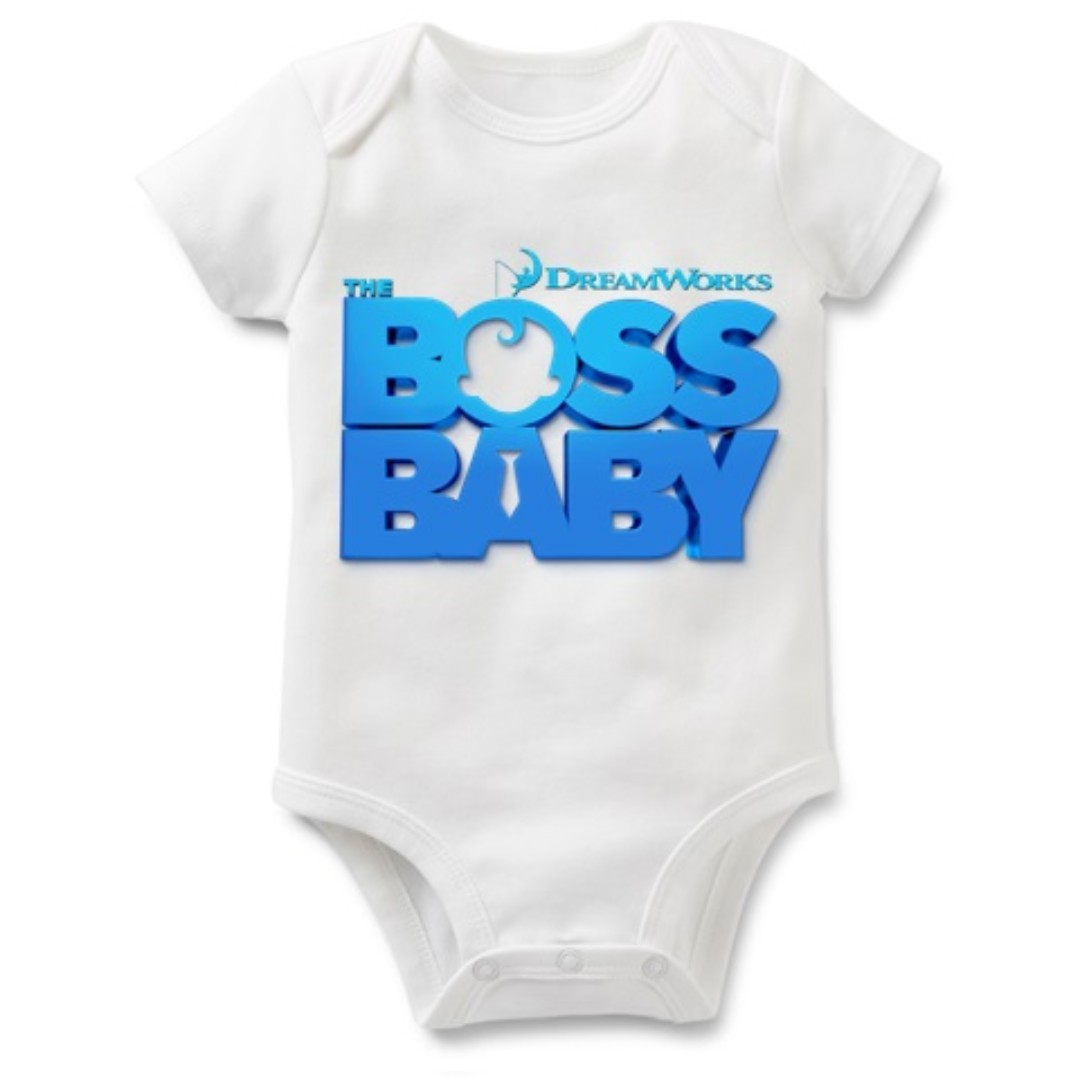 a874954ad The Baby Boss Baby Romper Cloth, Babies & Kids, Babies Apparel on ...