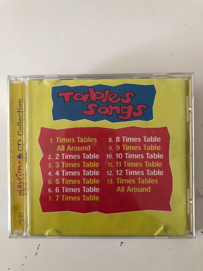 Timetable Songs Cd Music Media Cds Dvds Other Media