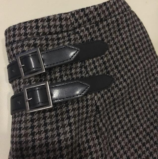 TOPSHOP Houndstooth Pleated Skorts#Next30
