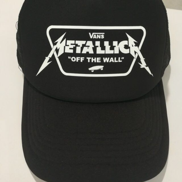 Vans x Metallica Trucker Cap a58fd5b2b94