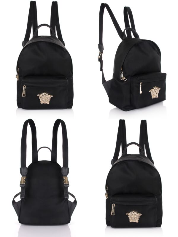 7a3749f914b3 VERSACE Nylon Medusa Head Backpack