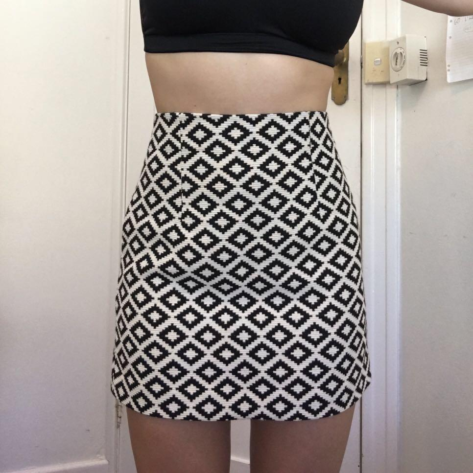 ZARA DRESS SKIRT