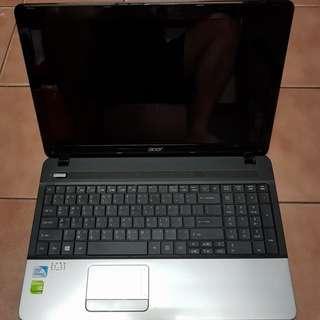 🚚 ACER 宏碁 Aspire E1-531G 15.6吋(獨顯2G) 筆電、不開機《無硬碟、記憶體》整台賣、報帳或維修用