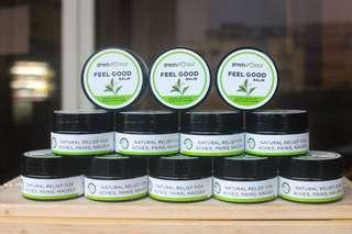 🚚 Feel Good Peppermint Ginger Balm / Muscle Rub / Aromatherapy Balm
