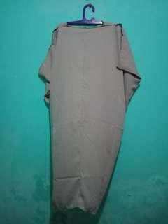 Kaftan nude baru sekali pake fit to XL