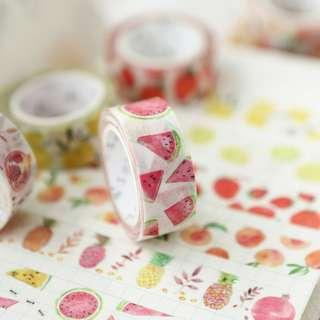 🚚 [In stock] Fruity Washi Tape