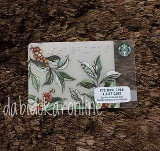 Starbucks US Card with Braille