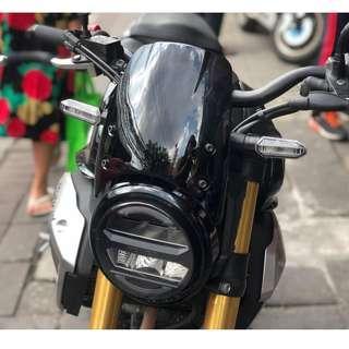 Honda CB150R windshield