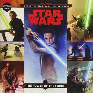 @(Brand New) Journey to Star Wars The Last Jedi : The Power of the Force  (Paperback)  By: Michael Siglain, Brian Rood (Illustrator)     For Ages: 7 - 8 years old