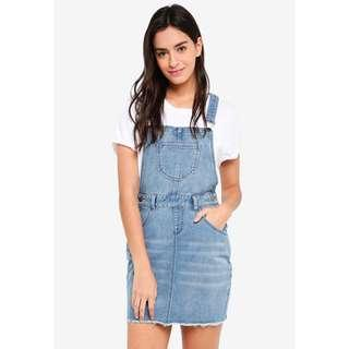 🚚 Short Dungaree Dress