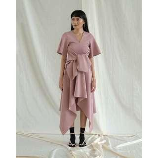 Popoluca Eve Dress in Dusty Pink