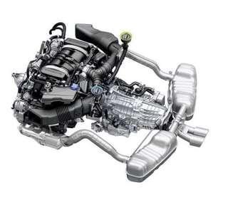 Porsche 981 Boxster Cayman Factory Original OEM Exhaust Muffler & Tip