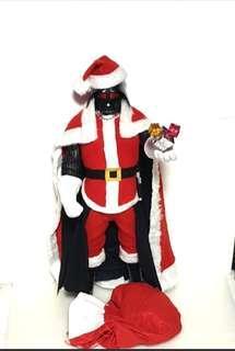 Custom star wars Darth Vader 18 inch  Christmas Santa  vader figure