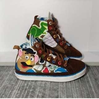 Sepatu Anak Adidas Disney Toy Story Hight Court Shoes