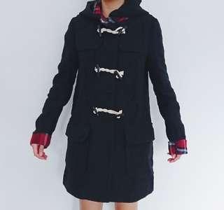 Wool-Blend Duffel Coat (ASOS)