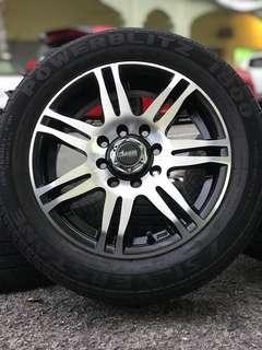 Advanti 13 inch sports rim viva tyre 70%