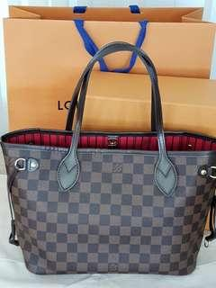 Authentic Preloved Louis Vuitton Neverfull PM