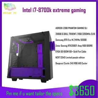 i7 8700k gaming pc | Electronics | Carousell Singapore