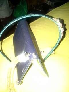 藍色水晶閃石頭箍