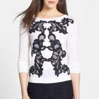 Beautiful designer (DVF) sweater on sale!!
