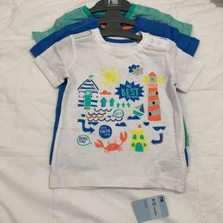 Best kid ever beach t-shirts - 3 pack
