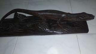 Teak Wood design/carved beautifully in 1 piece of wood