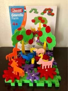 Quercetti Giorello Farm Educational Toy