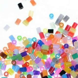 100pcs/Set DIY 2.6mm Mixed Colours HAMA/PERLER Beads For GREAT Kids Fun Craft