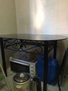 Glass Dining Table (Rush Sale)