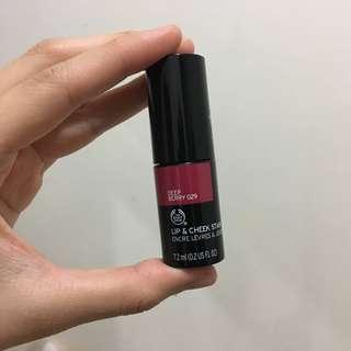 The Body Shop Lip Cheek Stain - Deep Berry
