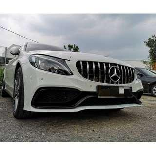 Mercedes Benz C63 W205 Bodykit Conversion