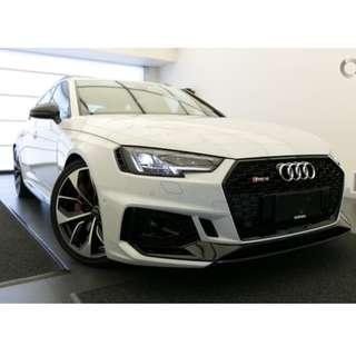 Audi RS4 Front Bumper for A4 B9, PP