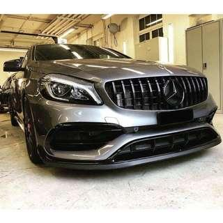 Mercedes W176 AMG A45 FL Front Bumpers Bodykit