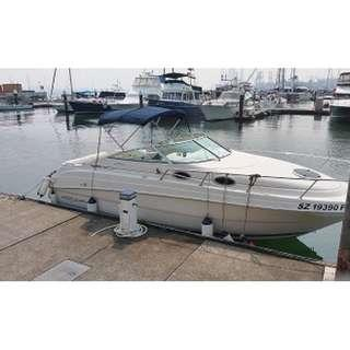 Used boat Monterey 262 CR  with cabin sell $50000 NETT, call 97535908