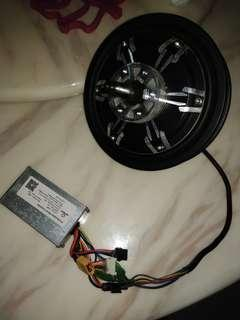 36v controller plus 350w motor used nego for fast deal