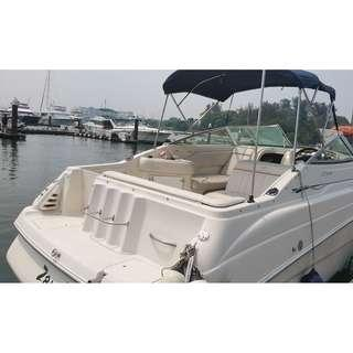 Used boat Monterey 262 CR cheaper then buy a house with cabin sell $50000