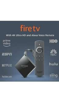 Firetv 4k Ultra HD 2017 edition