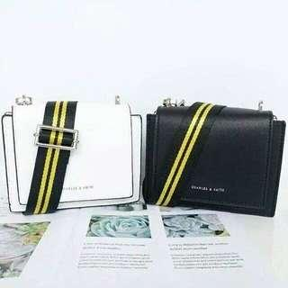 Charles and Keith Sling Bag with Nylon Strap