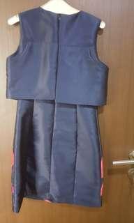 Dress cd blue