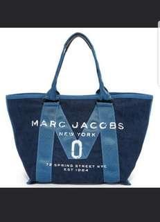 Marc Jacobs 牛仔布 tote bag