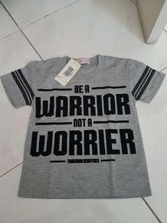 Warrior shirt by Little T